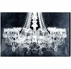 photo gallery of chandelier wall art viewing