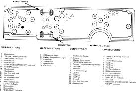 92 pontiac firebird wiring instrument cluster tach gauge package graphic