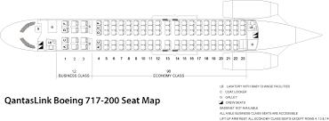 Delta Flight 200 Seating Chart Boeing 717 200 Seat Map Seating Chart Flyradius