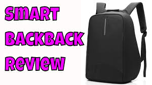 Smart Backpack 2017 with <b>USB</b> Port Anti-theft Water-Resistant Light ...