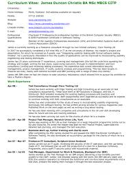 Detailed Resume Template Cv Format Oklmindsproutco Resumes With