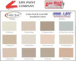 Cool Life Paint Color Chart 16 Genuine A Plus Elastomeric Paint Color Chart