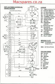 wiring diagrams washing machines macspares whole spare wiring diagrams washing machines