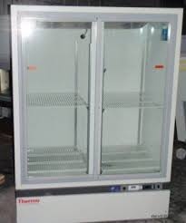 thermo scientific revco rel4504 double glass door high performance laboratory refrigerator refrigerator freezer for