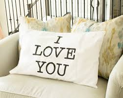 Amazon.com: I Love You & Love You More Cotton Polyester Standard Size  Pillowcase Pair for Bedroom, Home Decoration Set, Anniversary Valentine's  Day Gift: ...