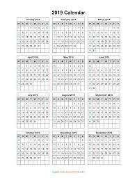 print a calendar 2019 print calendar year 2019 2019 calendar week number printable