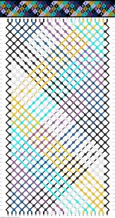 FriendshipBraceletsNet Patterns Interesting Inspiration