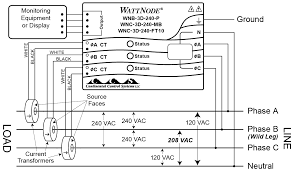 four wire delta circuits continental control systems, llc 208 volt lighting wiring diagram four wire delta connection diagram