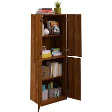 Wooden Storage Cabinets With Doors Mainstays Storage Cabinet Multiple Finishes Walmartcom