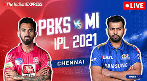 Cricket schedule of international, t20 and t10 leagues, indian, english, australian and domestic cricket matches on cricket world. Ipl 2021 Pbks Vs Mi Live Cricket Score Online Rohit Rahul To Face Off In Chennai Abs News247