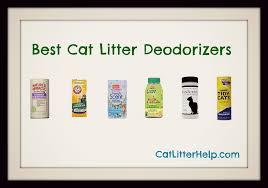 Cat Litter Comparison Chart Best Cat Litter Deodorizer Catlitterhelp Com