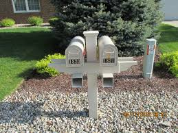 Garden Mailbox Post Ideas Capricornradio HomesCapricornradio Homes