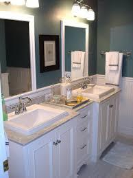 Bathroom White Vanities 5 Must See Bathroom Transformations Master Bath Subway Tile