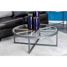 Iron And Glass Coffee Table Coffee Table Accent Tables Living Room Furniture Furniture