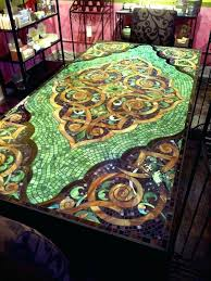 diy mirror mosaic table top mirror mosaic table top elegant best mosaic ideas and inspiration images