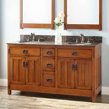 rustic bathroom double vanities.  Rustic Rustic Bathroom Vanity Plans And 60u0026quot American Craftsman Double  For Undermount Sinks To Vanities I