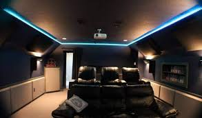 lighting for home theater. Save Rope And Sconces Home Theater Lighting Picture For