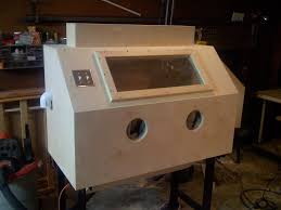 Sand Blaster Cabinet Diy Blast Cabinet Diy Projects