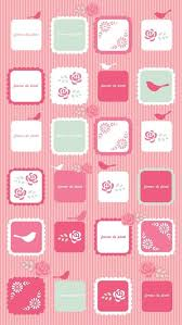 cute wallpaper for iphone 5 home screen. Contemporary Iphone Pink Icons Iphone 5 Wallpaper  50 Examples Of IPhone U003c3  And Cute Wallpaper For Iphone Home Screen E