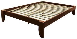 Amazon.com: Stockholm Solid Wood Bamboo Platform Bed Frame, Queen ...