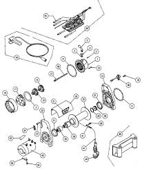 warn authorized parts and service center for the x8000i winch 32455 brake assembly includes 27372 hex shaft 10 10in motor coupler 14584 drive splined retaining ring