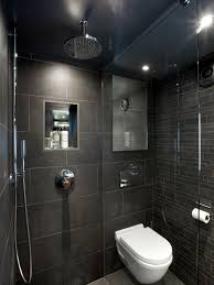 Wet Room. Small Dark BathroomDark Grey BathroomsSmall Toilet ...
