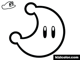 Paper Mario Coloring Pages Paper Coloring Pages 7 Paper Mario