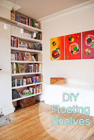 How To Build Floating Shelves In An Alcove Interesting DIY Floating Shelves Little House On The Corner