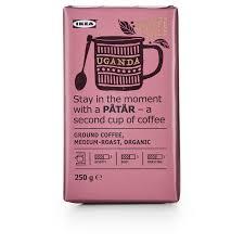 Купить PÅTÅR <b>Кофе молотый</b>, средней обжарки, <b>Уганда</b>/100 ...