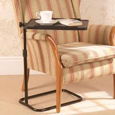 over bed tables chair focus on diity swivel regarding armchair tray table decorations 5