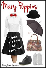disclosure affiliate mary poppins diy costume