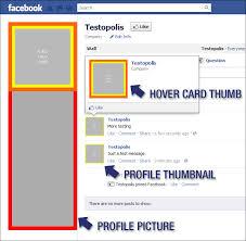 huebris free facebook profile picture template