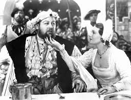 crazy film guy the private life of henry viii 1933 a tender moment between henry viii charles laughton and wife 5 catherine howard binnie barnes