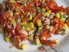 Рецепт салата кукуруза перец болгарский