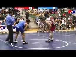 Frayer Wrestling Sunkist Freestyle 66kg Final Jared Frayer Vs Joe Johnston Youtube