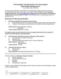 Resume Templates Real Estate Appraiser Samples Commercial Sample