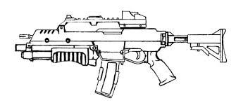Small Picture Gun Coloring Pages The Hand Gun Machine Gun etc Gianfredanet