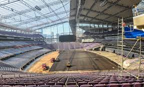 3d Controls Level The Playing Field At New Vikings Stadium