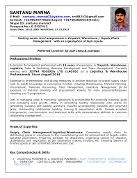 Inventory Manager Cv Celoyogawithjoco Mesmerizing Resume Preface