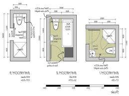 Small Bathroom Blueprints