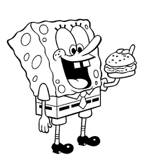 Spongebob Coloring Pages Telematik Institutorg