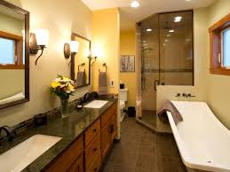 Pictures Of Yellow Bathrooms Brass Bathroom Light Fixtures Hgtv