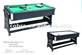 revolver 3 in 1 pool air hockey and table tennis 7ft fat