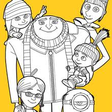 Small Picture DESPICABLE ME coloring pages 6 Movies online coloring sheets and