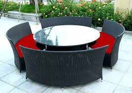 resin wicker outdoor recliner wicker outdoor seating wicker patio dining furniture round table outdoor setting wicker