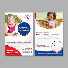 Child Care Brochure Design Elegant Playful Childcare Flyer Design For Bellavision