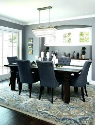 Area Rug Over Carpet Dining Room Rugs 8 X Best Ideas On Grey Blue Dark Wood In