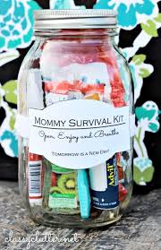 24 personalized mommy surival kit