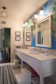 Sconces Bathroom Cool Boys' Bathroom Design Transitional Bathroom Tim Barber