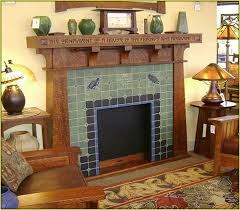 Arts And Crafts Decorative Tiles Fresh Arts And Crafts Tile Fireplace Surround decorative tiles 97